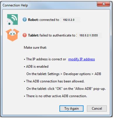 Running an application — QiSDK