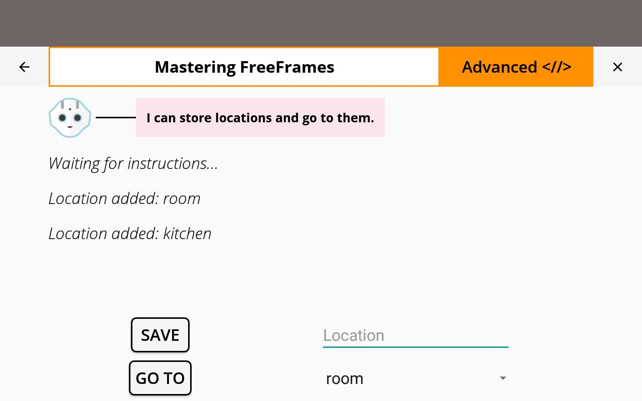 Mastering FreeFrames — QiSDK